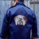 Personalised Navy Military Jacket