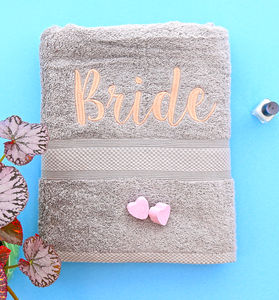 Bridal Towel