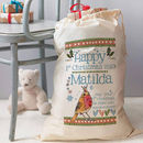 Personalised 1st Christmas Keepsake Sack
