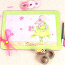 Green Mousie Ballerina Placemat