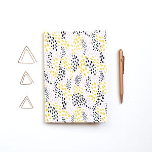 Patterned A5 Notebook Waves - stationery-lover
