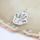 Personalised Silver Hand Or Foot Print Charm