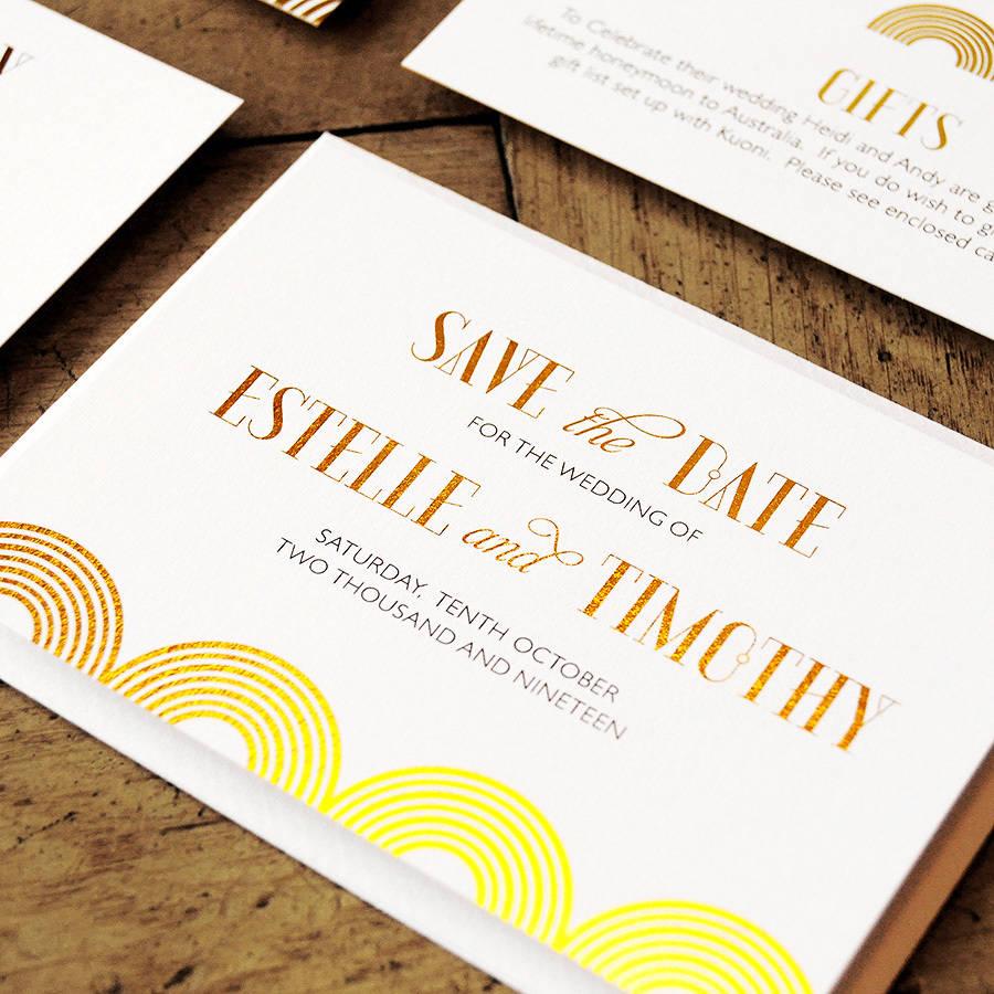 great gatsby wedding invitation by feel good wedding invitations ...
