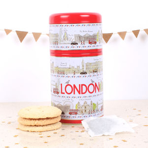 London Icons Tea And Biscuit Tin - new in food & drink