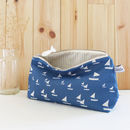 Sailboats Mid Pouch