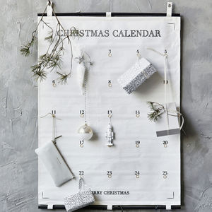 Fabric Christmas Calendar - advent calendars