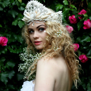 Diamante Mermaid Crown - head pieces