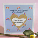 Personalised 'When We Meet Again..' Scratch Card