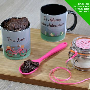 True Love Mug Cake Kit For Engagement Or Wedding Couple