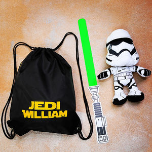 Personalised Jedi Bag - children's accessories
