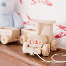 Personalised Birthday Wooden Train Set