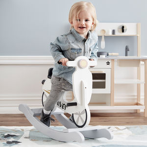 Personalised Rocking Scooter - free delivery gifts to mainland UK