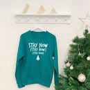 Stay Now Womens Christmas Jumper