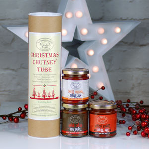 Pick And Mix Christmas Chutney Tube Gift Set