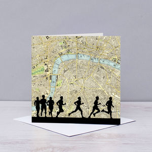 London Marathon Card