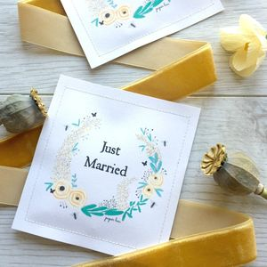 Buttercup Yellow Seed Favour Packet - wedding favours