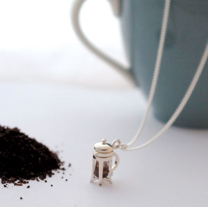 Cafetiere Necklace