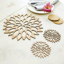 Blossom Placemats And Coasters Set