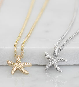 Starfish Necklace For Calm And Renewal