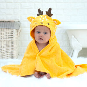Personalised Buttercup The Deer Baby Towel