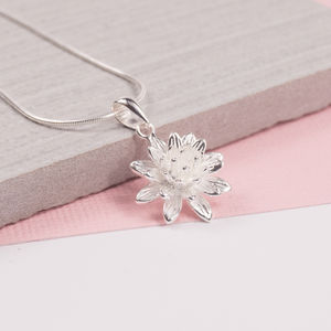 Chrissy Flower Pendant - necklaces & pendants