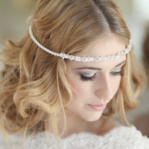 Derwent Bridal Browband - bridal hairpieces