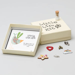 Personalised Life Kit Keepsake Charm Box - new baby gifts