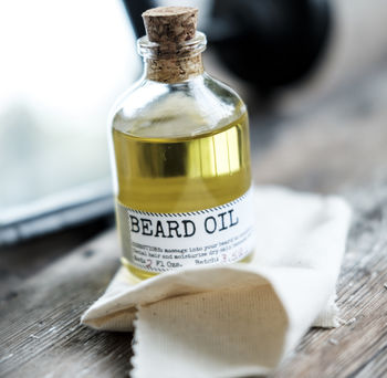 Beard Oil And Face Rag Gift Set
