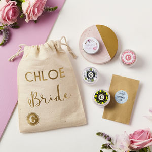 Personalised Bride Skincare Collection
