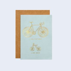 Like Father, Like Son Father's Day Card - winter sale