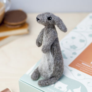 Rabbit Needle Felting Craft Kit - sewing kits