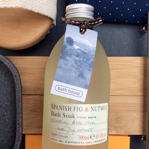 Spanish Fig And Nutmeg Soothing Bath Soak - new in home