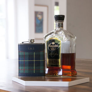 Personalised Tartan Hip Flask - hip flasks