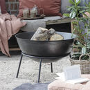 Contemporary Fire Pit On Stand