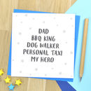 Father's Day Card For Dad