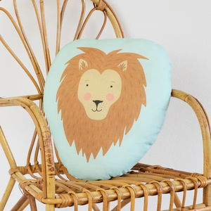 Children's Lion Cushion - cushions
