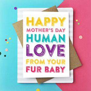 Happy Mothers Day Human Greetings Card