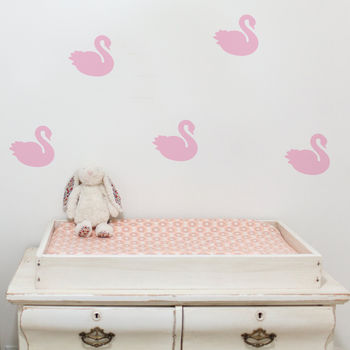 Swan Wall Stickers