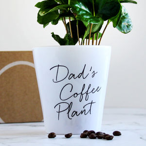 Personalised Grow Your Own Coffee Kit - seeds & bulbs