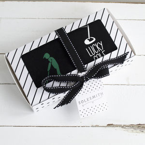 Golf Socks Gift Box