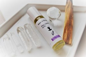 Palo Santo Purity Yoga Anointing Oil - massage & aromatherapy