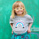 'Be Kind To Each Other' Rainbow Children's T Shirt