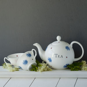 Bloom Hand Decorated Personalised China - teapots