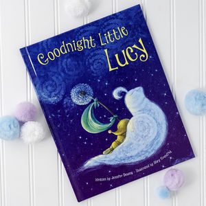 Personalised 'Goodnight Little Me' Story Book