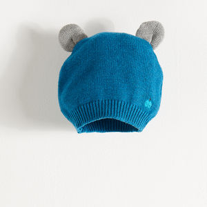 Elky Knitted Hat With Ears