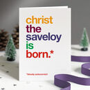 Pack Of Funny Christmas Cards