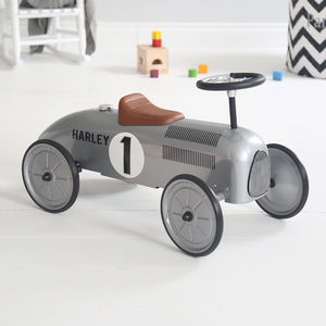 Silver Ride On Car - outdoor toys & games