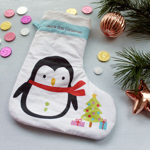 Baby's First Christmas Stocking - stockings & sacks