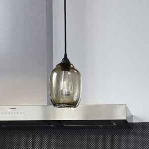 Smoke Glass Lamp Shade - lampshades