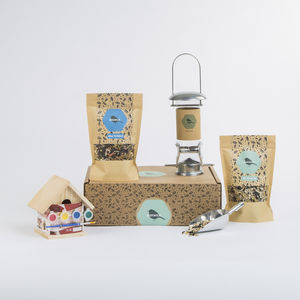 Children's Big Bird Seed Gift Box - birds & wildlife